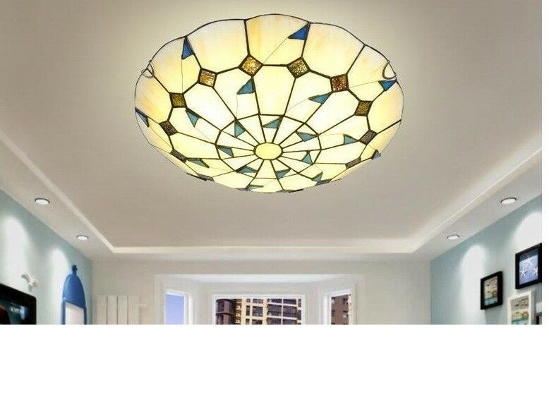 D171 Modern Farbeful Diameter 40CM Height 12CM Bedroom Ceiling Light Lamp O
