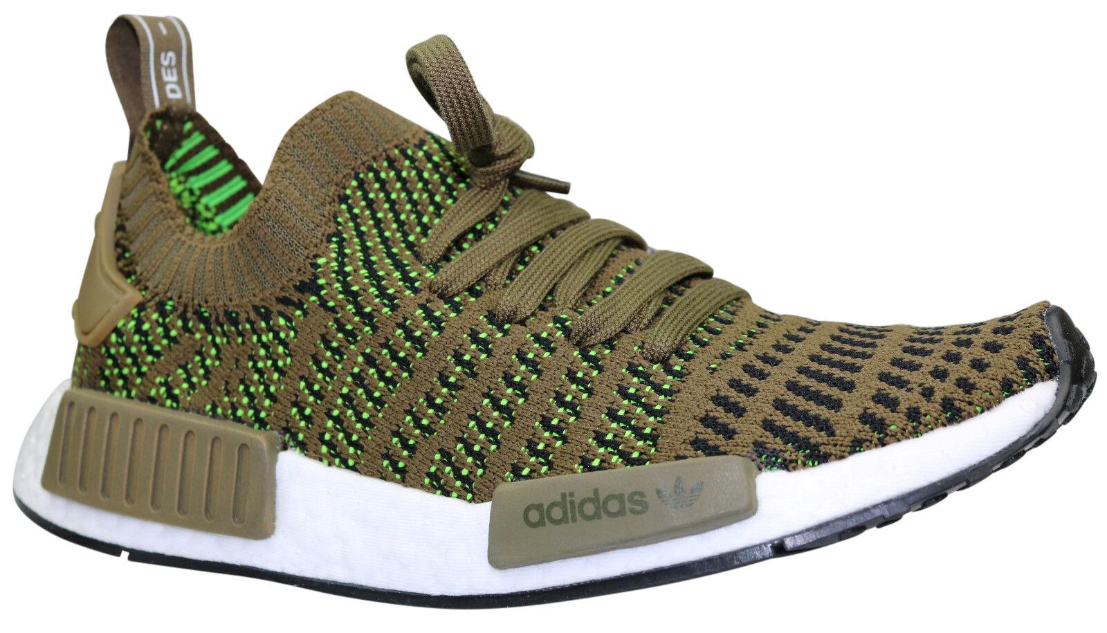 ADIDAS NMD r1 stlt PK Primeknit Scarpe Sneaker cq2389 Verde Taglia 36 - 47 NUOVO & OVP