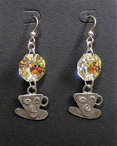 Handmade-Swarovski-Crystal-Sterling-Charms-Earrings-With-Gold-Filled-Earwires-7