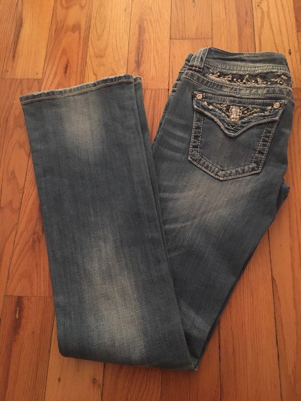 Miss Me Jeans Boot Cut JP5365B2 size 27