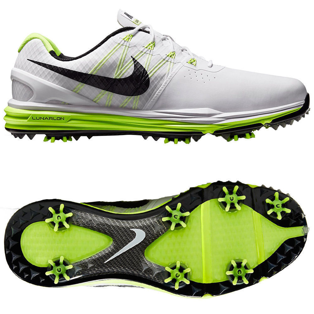 NIKE LUNAR CONTROL 3 GOLF SHOE SIZE 9.5  704665 102 CARBON FIBER NEW Price reduction