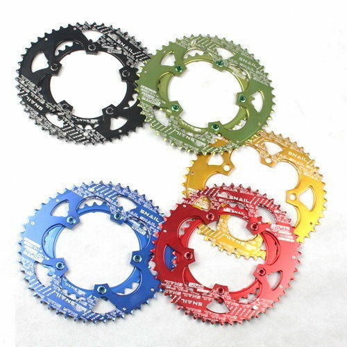 35T & 50T Double Chainring 9-11 speed 110  BCD MTB Bike Bicycle Oval Chain Ring  world famous sale online
