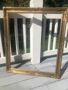 Antique-ART-amp-CRAFTS-PICTURE-FRAME-NEWCOMB-MACKLIN-STYLE