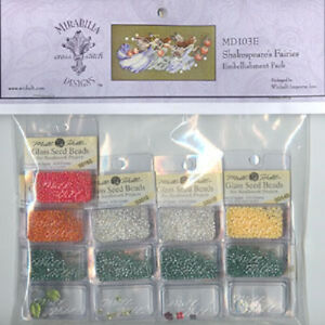 Shakespeare-039-s-Fairies-Embellishment-Pack-MD103E-Mirabilia-New