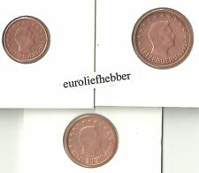Luxemburg     1 + 2 + 5 CENT   2002   UNC   IN STOCK