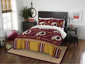 Washington Redskins Full Comforter & Sheets, 5 Piece NFL Bedding, NEW