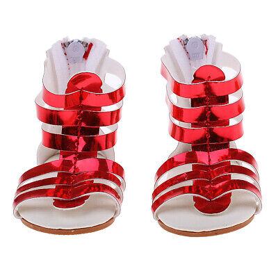 MagiDeal Trendy Pink Sequins Dance Shoes for 18/'/' AG American Doll OG//AG Dolls