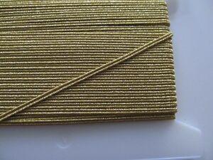 25-m-Soutache-Gimpe-Gespinst-3-5-mm-Farbwahl