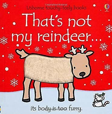 That's Not My Reindeer Hardcover Fiona Watt
