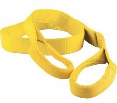 NYLON CRANE LIFTING SLING EE2-903x16FT TOW AXLE CLEVIS SHACKLE DOLLY WRECKER  /'