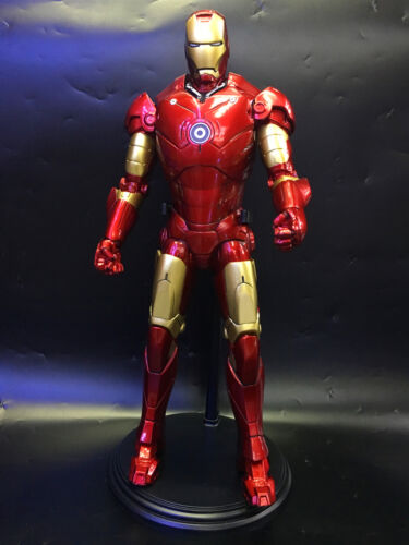 1//6 Scale IRON MAN MARK 3 III 12/'/' BY EMPIRE TOYS DOLL STATUE MODEL GIFT NIB