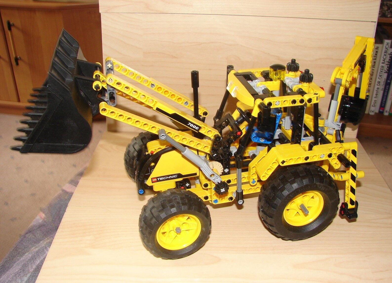 LEGO TECHNIC SET 8069  SCHAUFELLADER VON 2011 MIT BAUANLEITUNG U. ORI KARTON