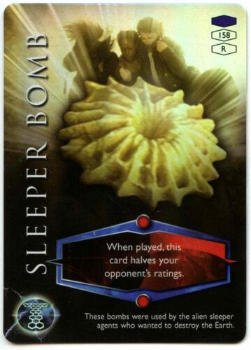 C319 Sleeper Bomb #158 Torchwood 2006 TCG CCG Foil Card