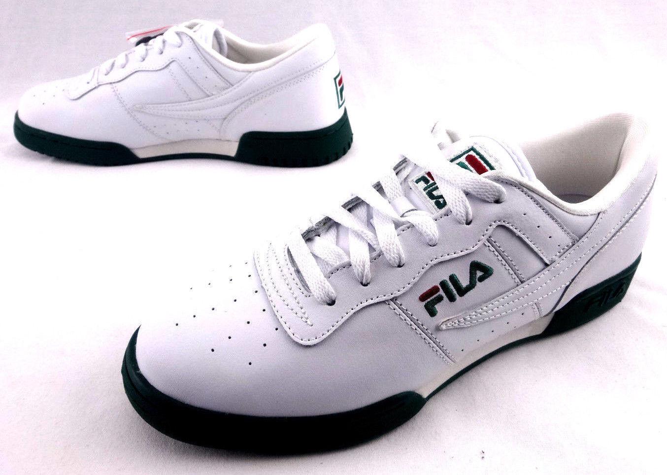 Fila Retro Heritage Original Fitness shoes 1VF80016-124 New USA Men's Size 9.5