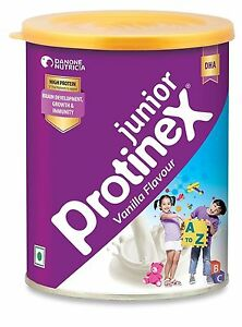 ProtineX-Junior-Health-Drink-Vanilla-Flavour-400-GM-For-Growth-amp-Immunity