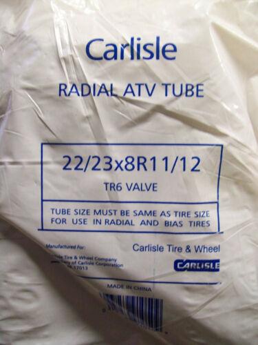Qty of 2 ~ ~ ~ Carlisle 22//23X8R11//12 TR6 Valve  Inner Tubes