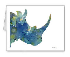 Blue Rhino Note Cards With Envelopes