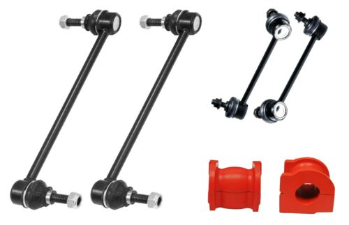 6PC Front Rear Sway Bar Links Front Bushings FITS Honda Pilot Acura MDX ZDX