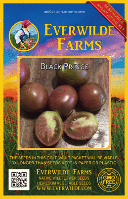 50 Abe Lincoln Heirloom Tomato Seeds Everwilde Farms Mylar Seed Packet