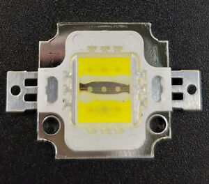 6 Royal Blue High Power LED Light 10pcs Square Actinic Hybrid 10W 3 Cold White