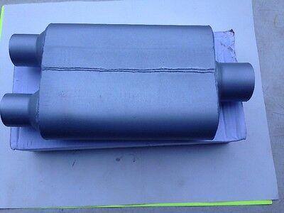 """VX 2 Chamber 40 Series Muffler 3/"""" Inlet//Dual 2 1//2/"""" Outlet"""