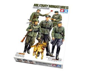 Tamiya-Military-Model-1-35-WWII-German-Field-Military-Police-Set-Hobby-35320