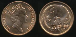 Australia-1987-One-Cent-1c-Elizabeth-II-Uncirculated