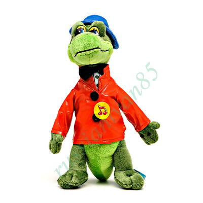 Crocodile Gena. Toy from the cartoon Cheburashka. Gene. Soft toy sounded.