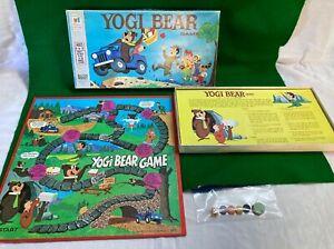 Yogi Bear 1971 Vintage Board Game Milton Bradley Complete