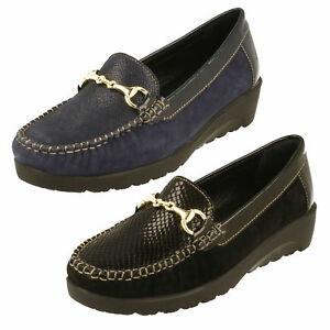 Doppel Damen Schuhe Passform Padders 2e Stil Georgina E Mokassin XuTZkOPi