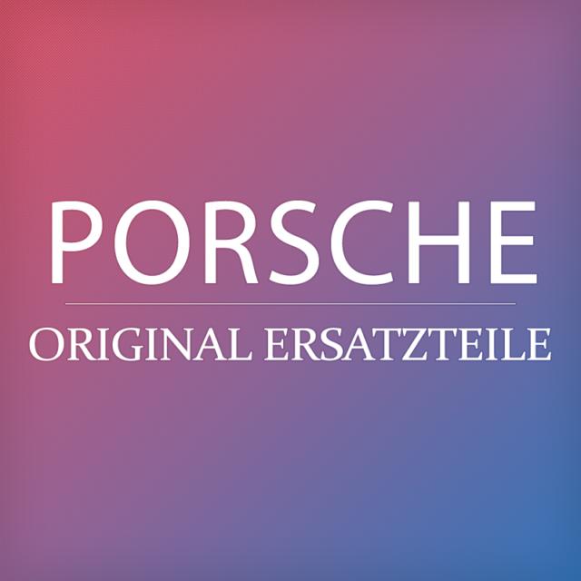 Original PORSCHE Wählhebel schwarz 9Y0044700008YR