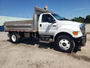 2009 Ford F 650 Dump truck