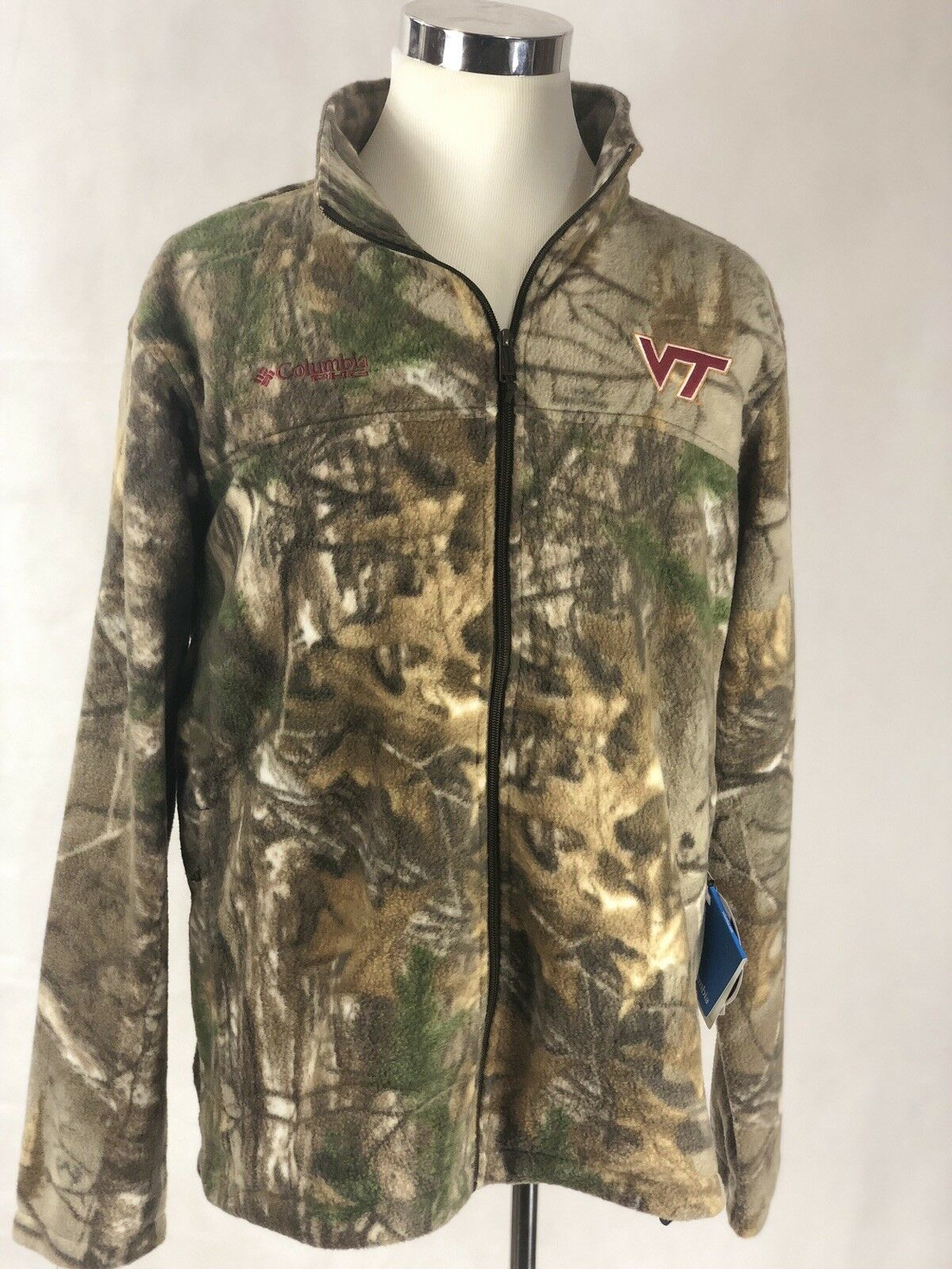 Virginia Tech Columbia Men's FleeceXL PHG  Performance Hunting  Gear  CAMO GREEN  with 100% quality and %100 service