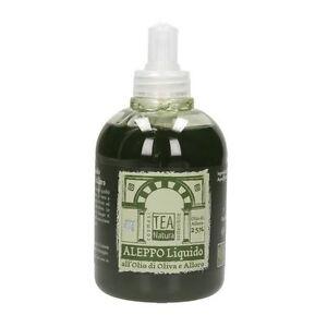 Tea Natura - Sapone di Aleppo liquido con olio di Alloro al 25% 300 ml