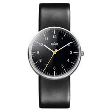 NEW RRP £90 Braun BN0021BKBKG Mens All Black Quartz Watch