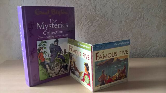 Mysteries Collection: 3 in 1 Stories, Enid Blyton, [With 2 CDs The Famous Five]