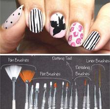 20pcs Nail Art Design Dotting Painting UV Gel Pen Brush Manicure Tips Tools Set