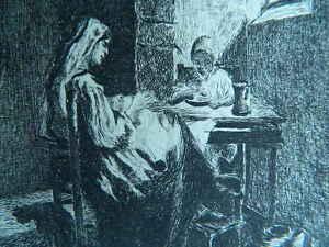 XIX O Anteriore Antica Incisione Anonimo Acqua Forte