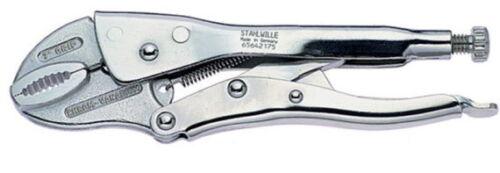 Stahlwille Gripzange mit Drahtabschneider Maul 30 mm Grip Zange 175 mm
