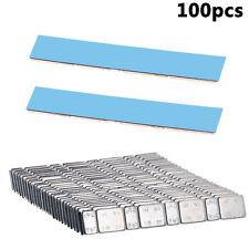 Adhesive Stick On Wheel Weights 100x60g 5g//10g Per Strip Good Sticky Blue Tape