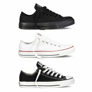 New Converse Chuck Taylor All Star Lo Top Mens Womens Unisex Canvas Trainers
