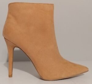 NEW   Qupid Qupid Qupid Beige Pointed Toe Ankle Stiefel 4