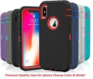 Shockproof Hybrid Hard Rugged TPU Defender Case For Apple Iphone 10 X XS Max XR