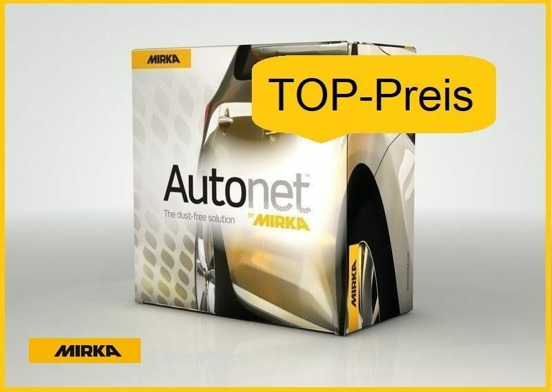 Mirka Autonet-Netzgitter Discos de Lijado con Cierre Adhesivo 125mm Korn 240 Ve-