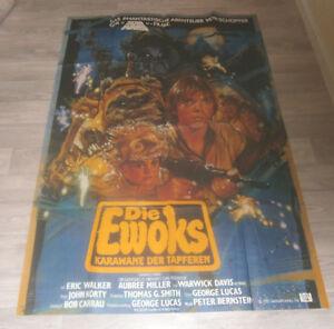 A0 Filmplakat - STAR WARS  - DIE EWOKS  KARAWANE DER TAPFEREN - Eric Walker -2