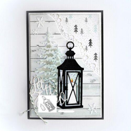 Stanzschablone Leuchter Kerzen Weihnachten Geburtstag Hochzeit Oster Album Karte