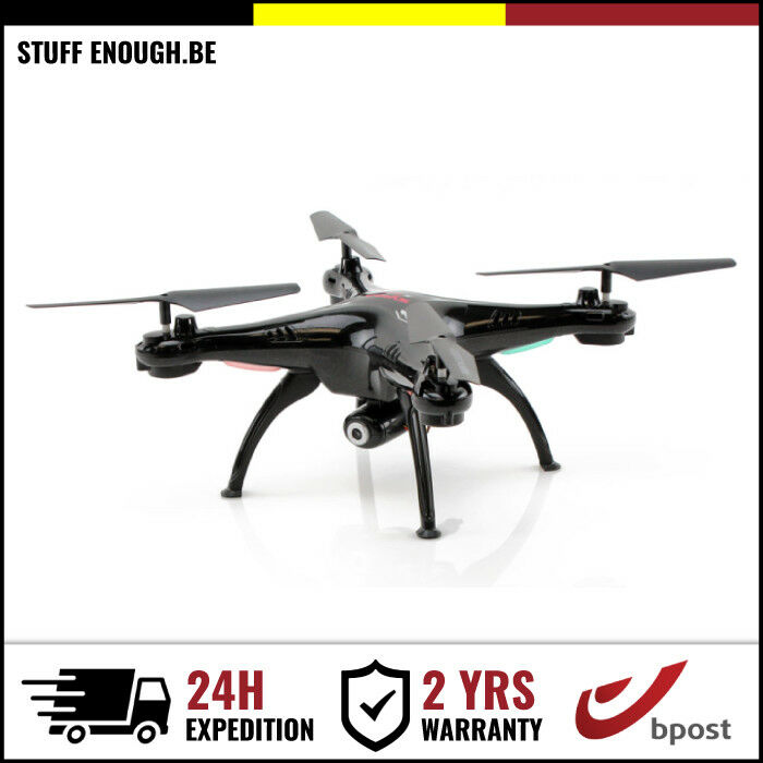 Original Syma X5SW-1 Drone Quadcopter WiFi FPV 2K Camera negro negro New