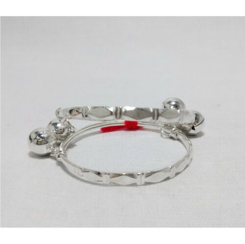 Anklet bangle Baby kid jingle bells gift Thai sterling silver 925 high quality