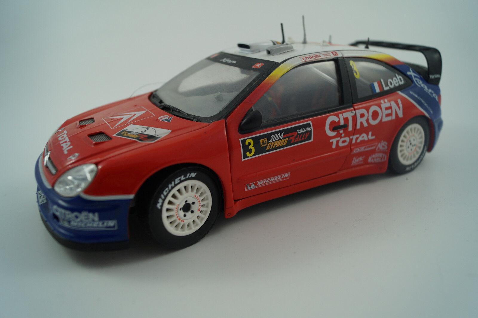 BBURAGO BURAGO voiture miniature 1 18 CITROËN XSARA WRC