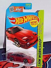 Hot Wheels '96 Nissan 180SX Type X Burgundy w/ Dmitriy Shakhmatov Auto
